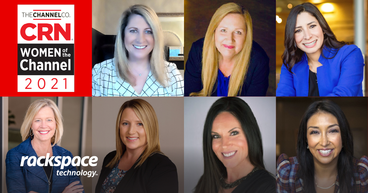 bio pics for seven leaders named to CRN 2021 Women of the Channel