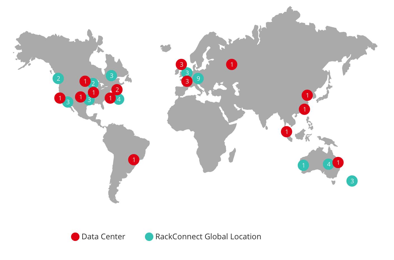 Rackspace data center locations