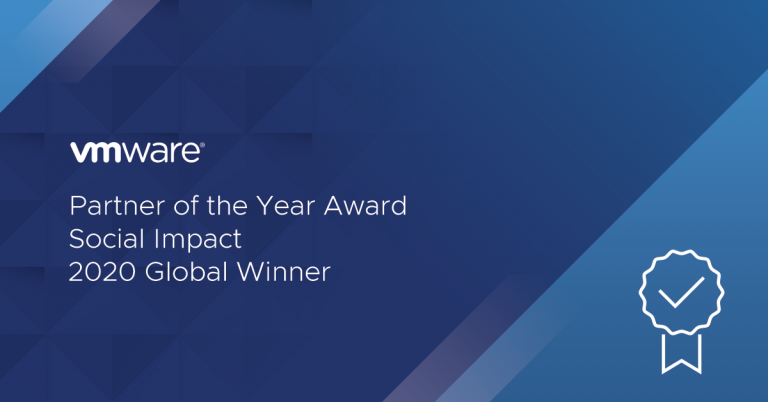 Rackspace VMware 2020 Global Partner of the Year Award