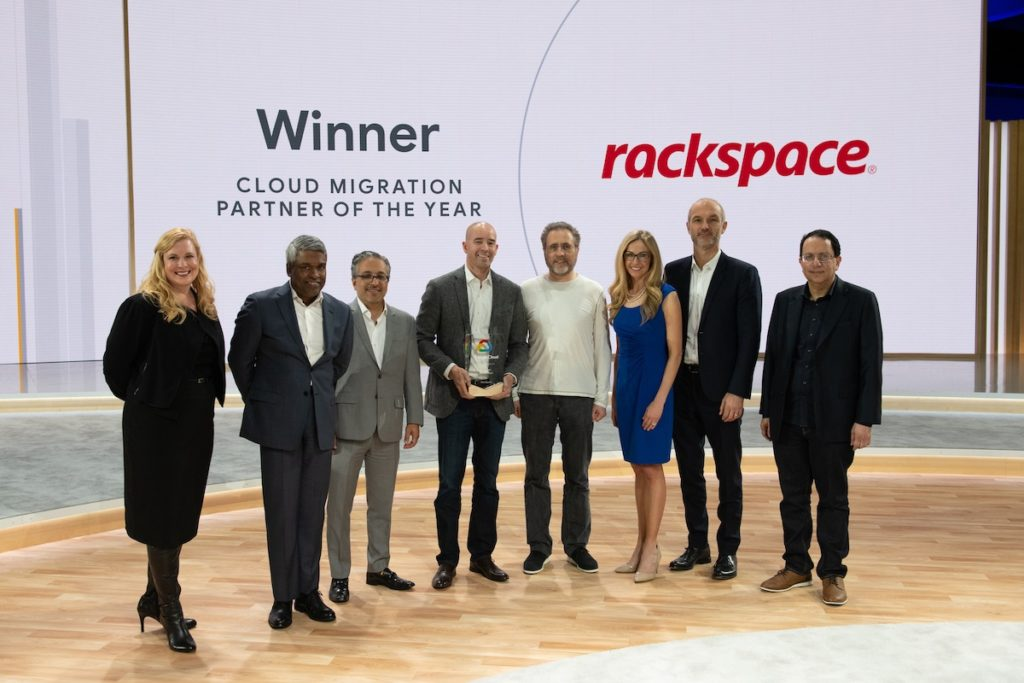 Google Cloud Names Rackspace its 2018 Migration Partner of the Year