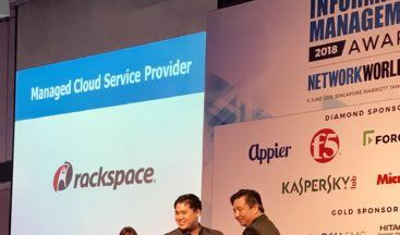 Rackspace Wins Managed Cloud Service Provider from NetworkWorld Asia