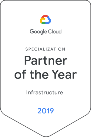 Google Cloud Partner of the Year 2019