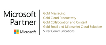 We are a 5 time Microsoft Gold Partner.