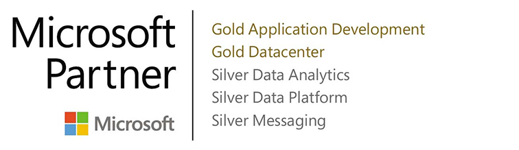 We are a 2 time Gold and 3 time Silver Microsoft Partner