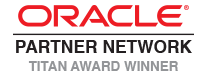 Oracle Partner Titan Award Winner