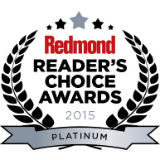 2015 Redmond Reader's Choice Award