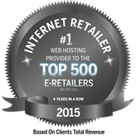 #1 Web Hosting Provider to the Top 500 e-Retailers