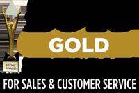 2015 Gold Stevie Winner for Sales & Customer Service