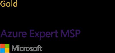 Microsoft Gold Partner - Azure Expert MSP logo