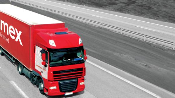 aramex truck