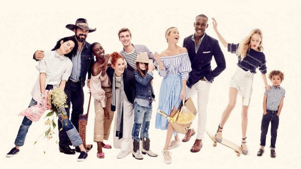 J. Crew photo shoot